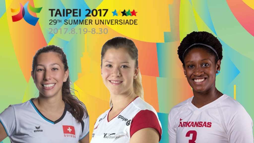 Universiade in Taipei mit 3 Power Cats