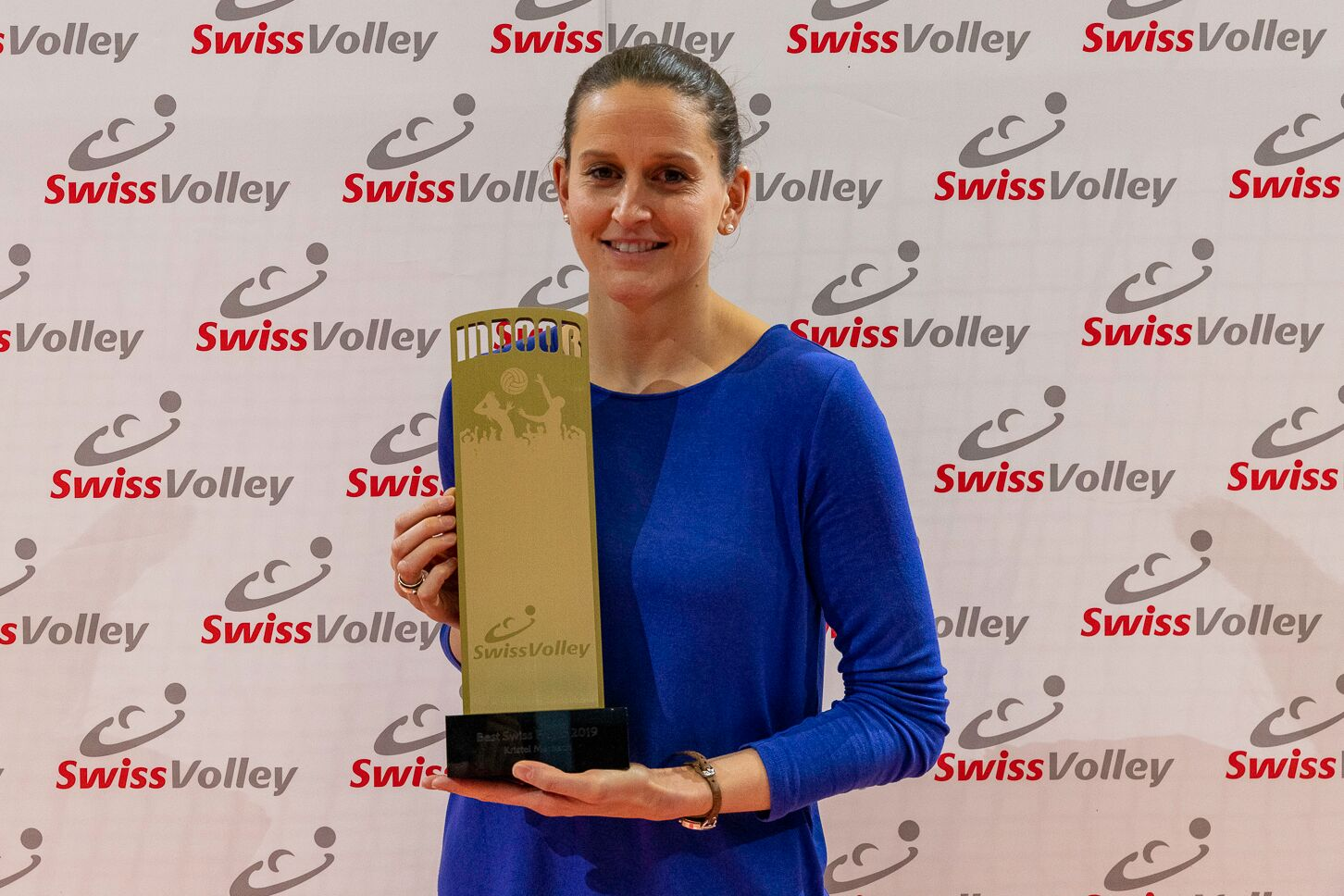 Best Swiss Player: Kristel Marbach